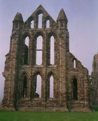 Bram Stokers Abbey in Whitby..